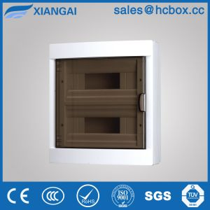 Two Raw Distribution Box Plastic Box Hc-Ls24ways MCB Box MCCB Box pictures & photos