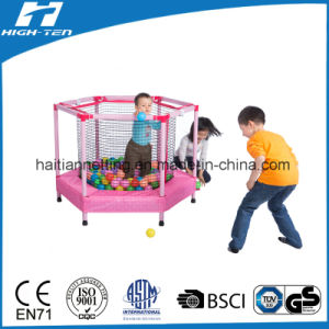 Hexagonal Trampoline with Enclosure for Small Baby