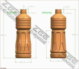 Factory Supply 1-6 Cavities Plastic Bottle Container Blowing Mold pictures & photos