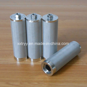 High Temperature Resistance Stainless Steel Sintered Filter pictures & photos