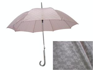 Double Lace Canopy Straight Umbrella (SU006) pictures & photos