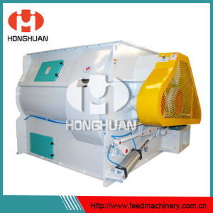 High Efficiency Double Shaft Mixer pictures & photos