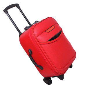 PU Pulley Luggage Sets for Travelling