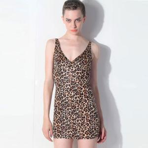 419efa24d63 China Hot Women Fancy Satin Sexy Short Dress Sleepwear - China Short ...