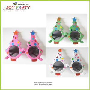 Christmas Tree Plastic Party Glasses