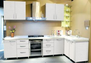 Cream Lacquer Kitchen Cabinet pictures & photos