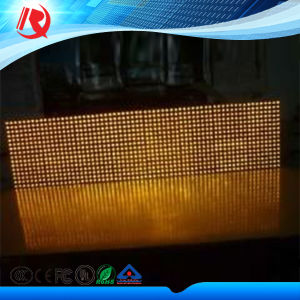 P10 Amber Color Outdoor LED Display pictures & photos