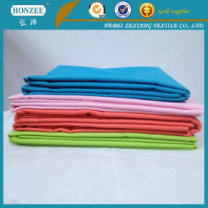 100% Cotton Fabric Pocketing Poly Cotton / Cotton Interlining