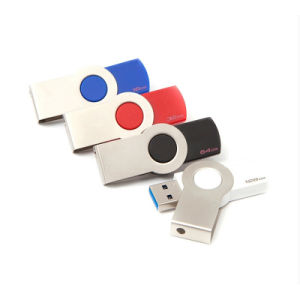 Metal Swivel USB Disk Flash Memory Pen Drive pictures & photos