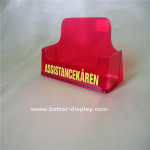 Custom Acrylic Business Card Holder with Logo pictures & photos