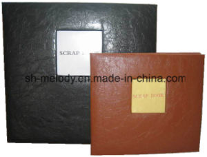 PU Leather Cover Photo Album/Scrapbook Album