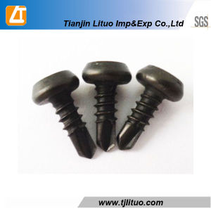 Black Phosphated Pan Framing Head Self Tapping Screw pictures & photos