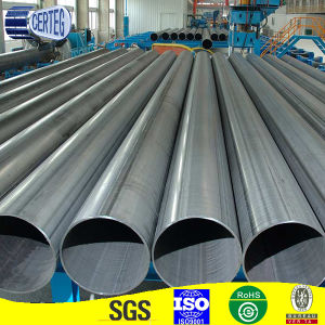 219mm Large Sizes Spiral Round Steel Tube Pirce (SP097) pictures & photos