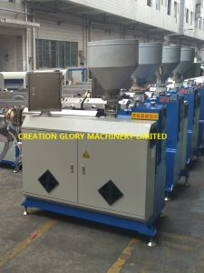 High Precision Stable Running ETFE Tubing Plastic Extrusion Machine pictures & photos