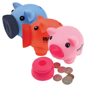 Promotional PVC Mini Pig Bank