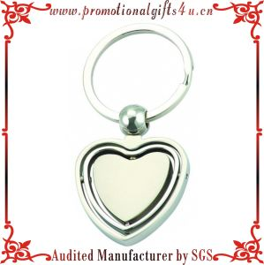 Heart Shape Rotatable Key Chains (JY-MK-035)