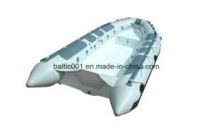 Fiberglass Hull Boat Inflatable Dinghy 470 Ce