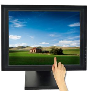 17 Inch Touchscreen Monitor with VGA & USB pictures & photos