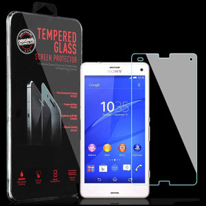 Tempered Glass Screen Guard Film Screen Protector for Sony Xperia Z3 Compact
