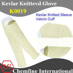 Kevlar Knitted Sleeve with Magic Tape/ K0019 pictures & photos