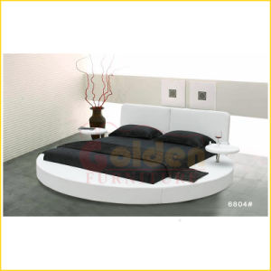 2014 Unqiue Exotic Furniture Round Bed D6804# pictures & photos