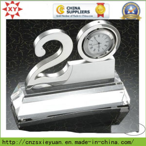 Manufacturer Custom Metal Trophy with Clock pictures & photos