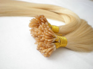 7A Brazilian Virgin Human Cold Fusion I Tip Hair Extension pictures & photos