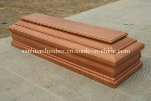 25mm Paulownia Wood Coffin pictures & photos