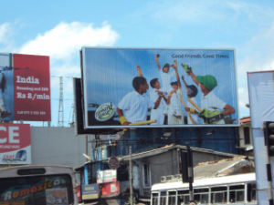 Roof Top Outdor Tri-Vision Billboard Display (F3V-136) pictures & photos