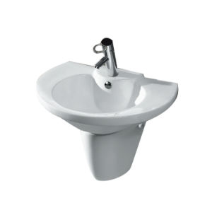 Wall-Hung Easy Cleaning Basin CE-Z3303 pictures & photos