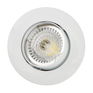 Aluminum Die Casting GU10 MR16 Round Tilt Recessed LED Down Light (LT1202) pictures & photos