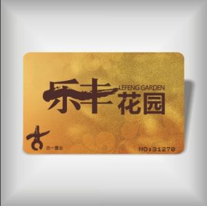 Golden PVC Card (LBD-PVC-12)