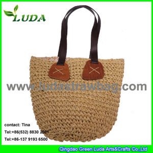 Luda 2015 Fashion Crochet Straw Bags