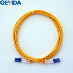 LC/Upc Duplex Patch Cord Optical Fiber Cable pictures & photos