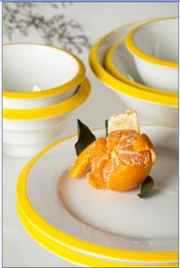 Porcelain Color Dinnerware