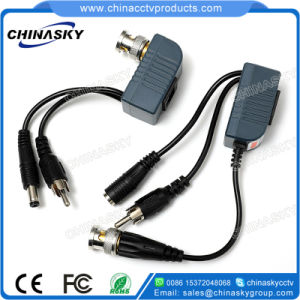 1CH Power-Video-Audio Passive Video Balun for HD-Ahd/Cvi/Tvi Camera (VB213B&C) pictures & photos