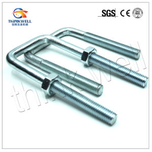 High Quality HDG Steel Construction Hardware Square U Bolt pictures & photos