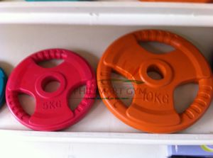 2014 Hotsell Exercise Gym Olympic Rubber Workout Weight Plate (PHH-990022) pictures & photos