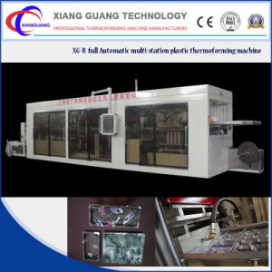 Manufacturer Supply Full Automatic Plastic Vacuum Thermoforming Machine