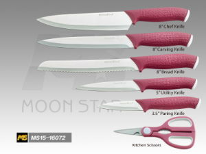PP Handle Kitchen Knife (MS15-16072I)