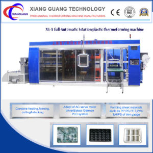 Full Automatic Multi-Station Plastic Thermoforming Machine