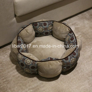 Tremendous Luxury Dog Sofa Round Leather Pet Beds Dog Product Shanghai Liberty Pet Product Co Ltd Squirreltailoven Fun Painted Chair Ideas Images Squirreltailovenorg