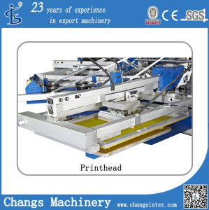 Yh-158/12 Factory Supplying Automatic 8 Colors Rotary T-Shirt/Fabric Screen Printing Machine pictures & photos
