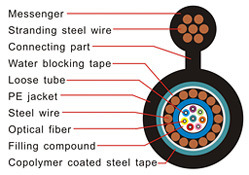 Fiber Optic Cable (Outdoor) - GYXTC8S
