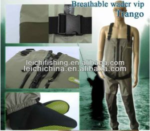 Custom Waterproof Camo Breathable Fishing Chest Waders pictures & photos