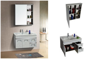 Stainless Steel Mirror Cabinet U-8008
