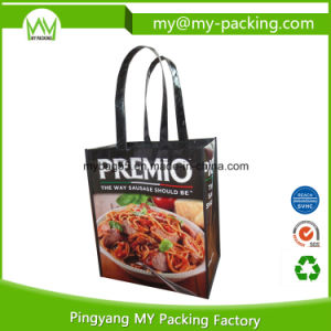 Trade Show BOPP Laminated Non Woven PP Promotion Bags pictures & photos