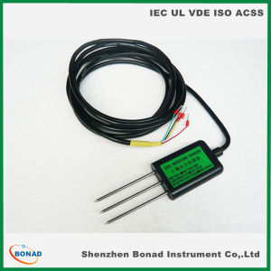 RS485 Temperature and Humidity Testers Soil Moisture Sensor Meter pictures & photos