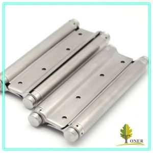 Stainless Steel 201 Spring Hinge/ 8-Inch (2mm) Double Action Spring Hinge
