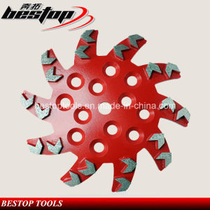 D250mm Arrow Segment Diamond Grinding Disc/Abrasive Grinding Wheel pictures & photos